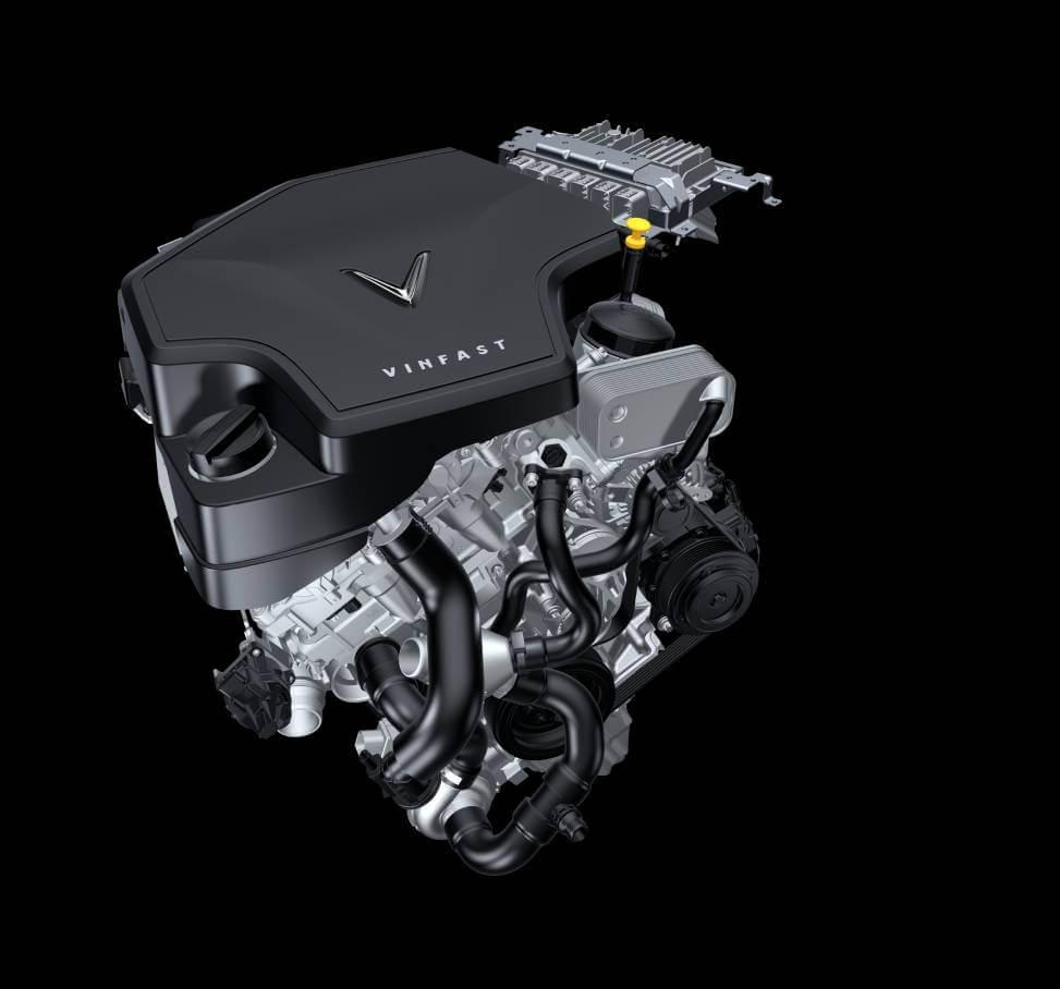 1. Động cơ 2.0 L - 228 HP