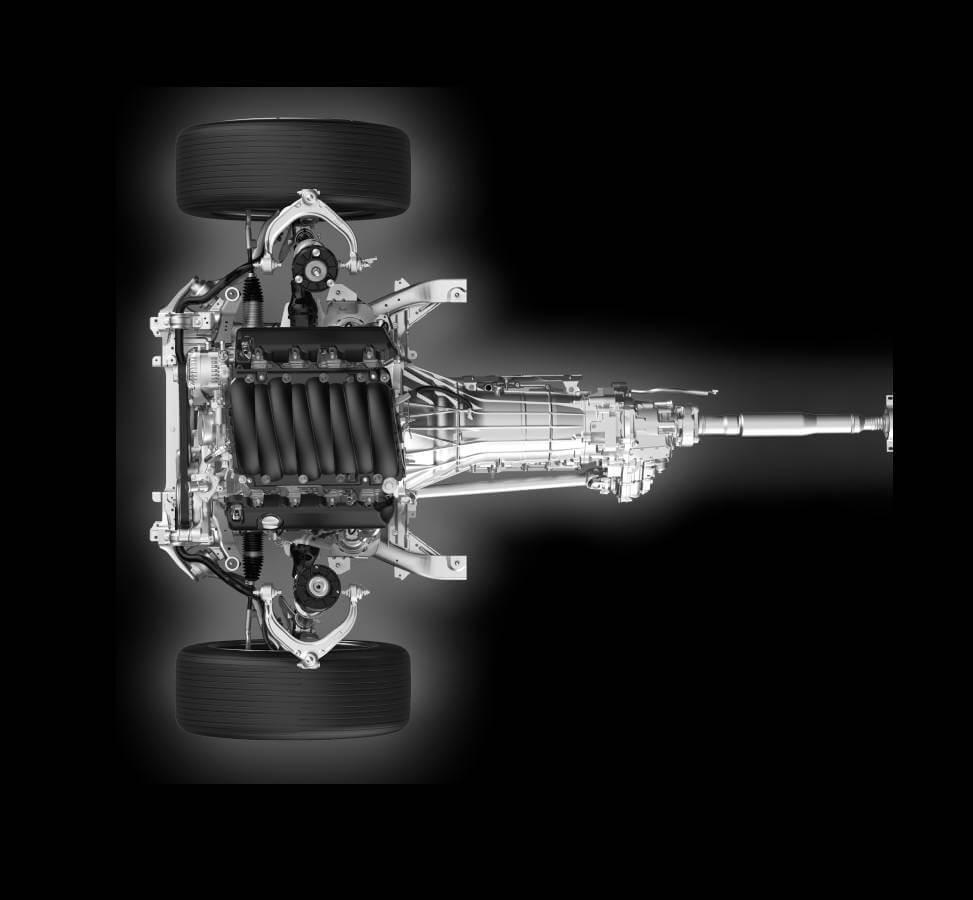 2. Hộp số tự động ZF 8 cấp & AWD